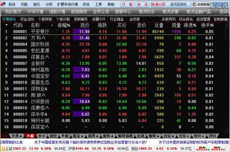 中国银河证券海王星云服务版